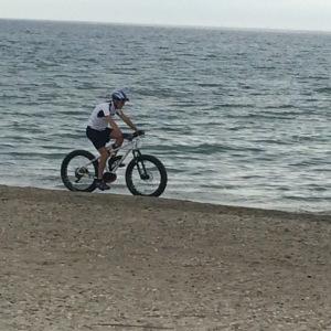 Le Fatbike est un excellent engin de plage... quand la plage est déserte