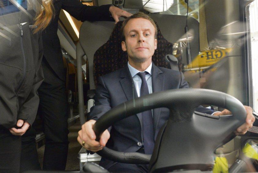 bus macron