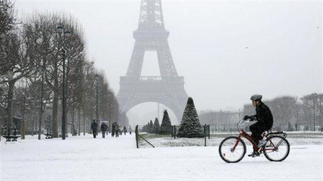 neige paris