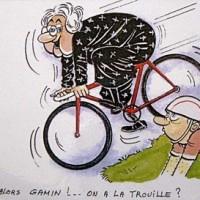 Ma grand-mère fait-elle du vélo?