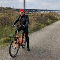Cycler à Malmö