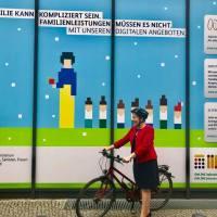 Campagne pour le casque en Allemagne