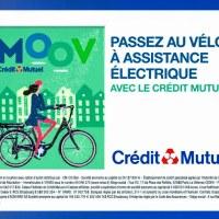 Le Crédit Mutuel pense au vélo