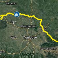 Traversée de la France sud à VTT