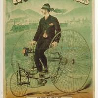 La pub vélo d'antan
