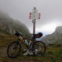 Voyage à vélo, la pesée