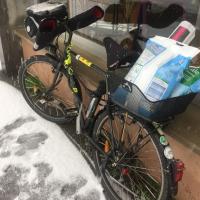 Neige + courses à vélo, huit conseils